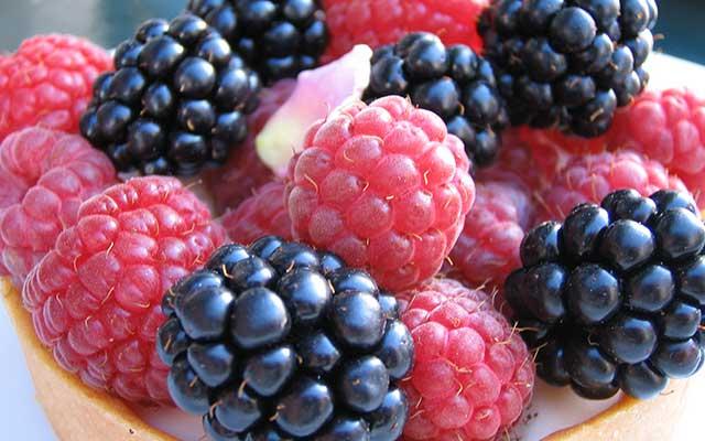 5. Vitamin E Pada Buah Blackberry Raspberry