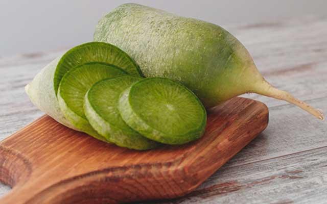 7. Vitamin E Pada Sayur Lobak Hijau