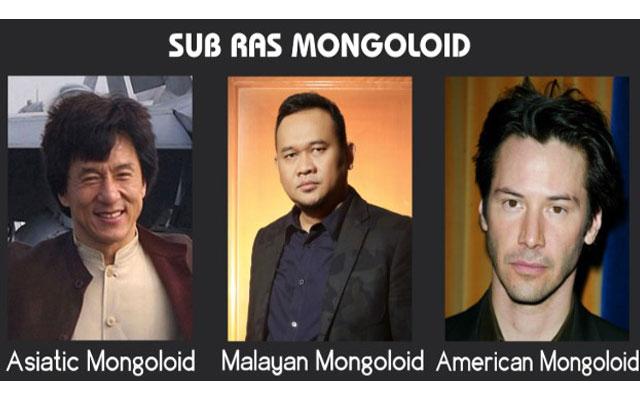 Ciri Ciri Ras Mongoloid