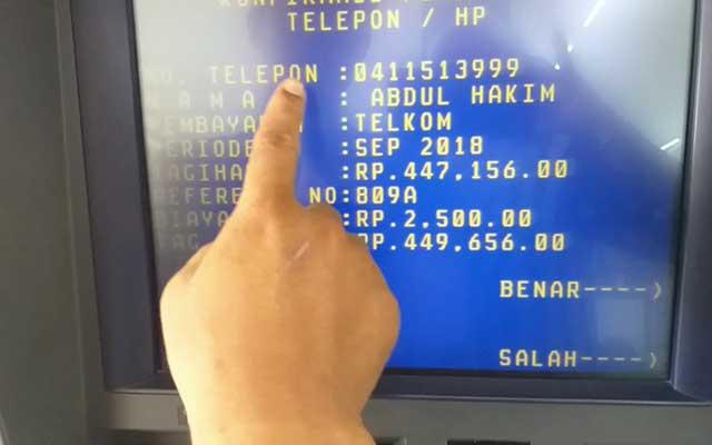 Cara Bayar Indihome Lewat ATM Mandiri