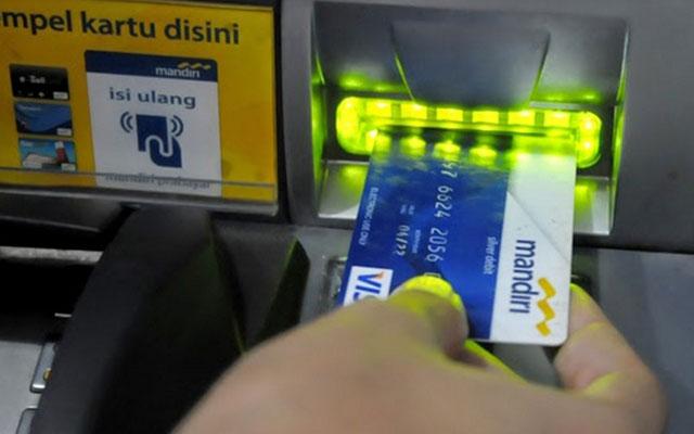 Bayar Lewat ATM Mandiri