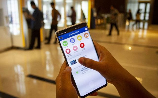 Bayar Lewat Mobile Banking Mandiri