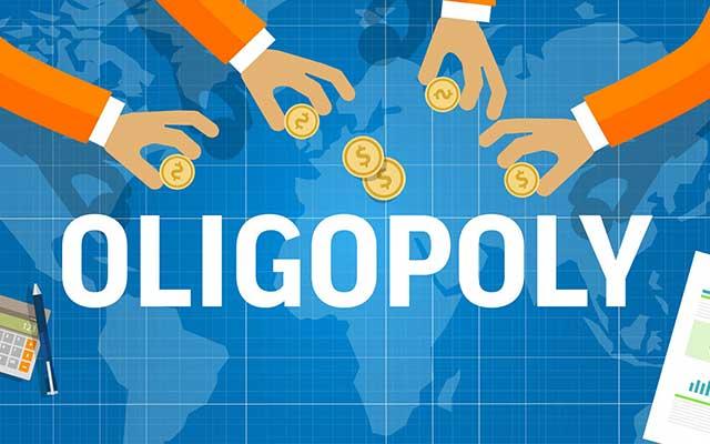 Ciri ciri Pasar Oligopoli