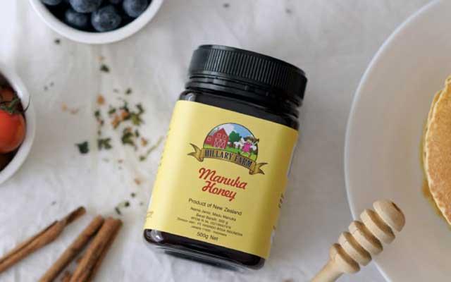 3. Hillary Farm Manuka Honey