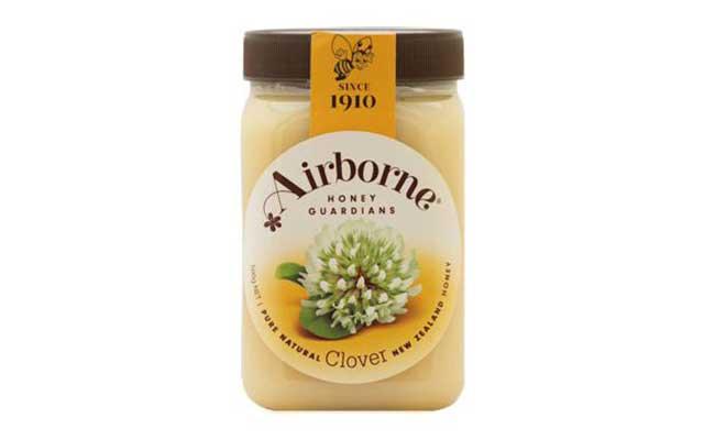 6. Airbone Creamed Clover Honey