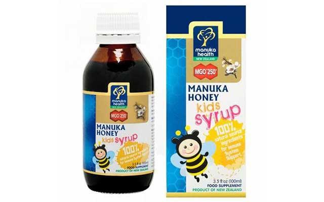6. Manuka Honey Kids Syrup MGO 250