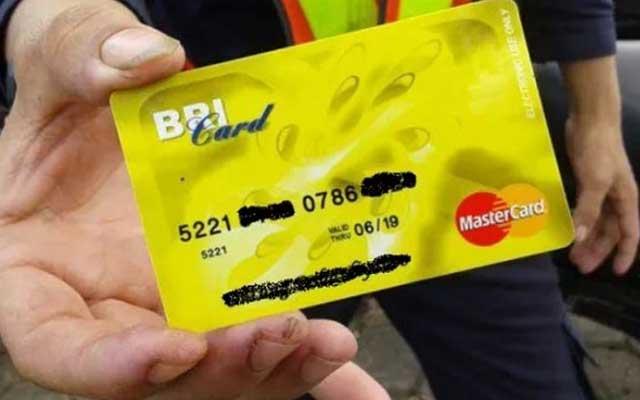 2. Kartu ATM BRI Gold