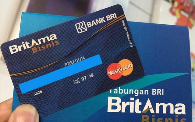 3. Kartu ATM BRI Premium