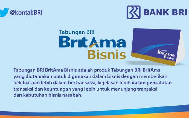 Biaya Administrasi Britama Bisnis