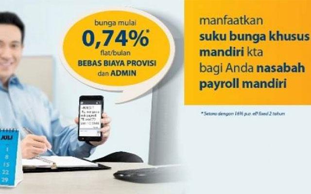 Biaya Administrasi Mandiri Tabungan Payroll