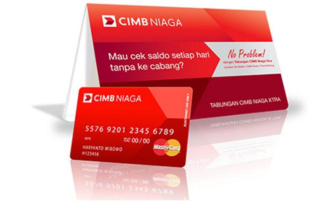 Biaya Administrasi Tabungan CIMB Niaga Xtra