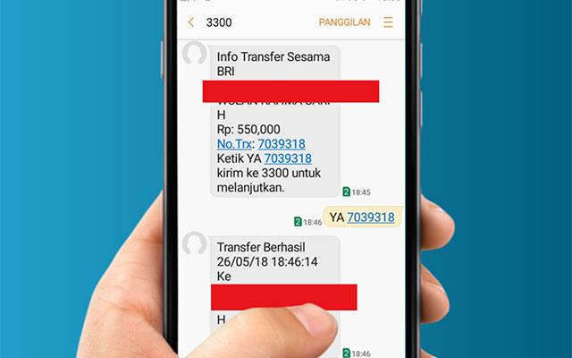 Cara Transfer SMS Banking BRI Ke Sesama BRI dan Bank Lainnya