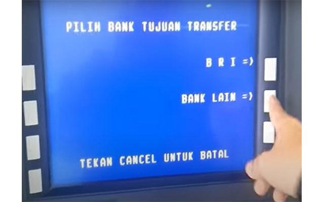 Pilih Tujuan Bank