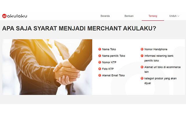 Syarat Daftar Merchant Akulaku