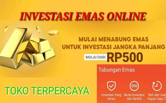 Cara Investasi Emas Online Terpercaya Terbaik