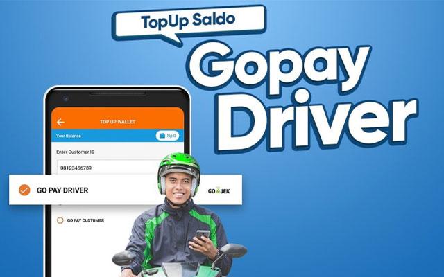 Cara Top Up Gojek Driver 100 Mudah Terbaru