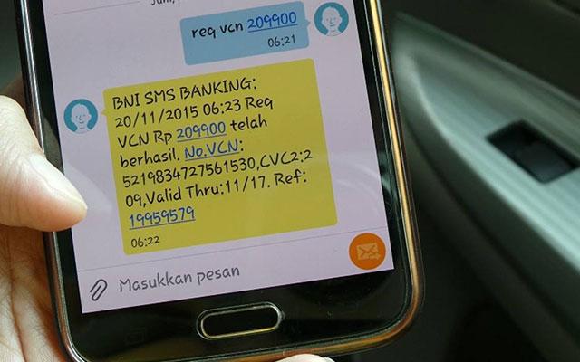 Biaya SMS Banking BNI Untuk Transaksi Finansial Non Finansial
