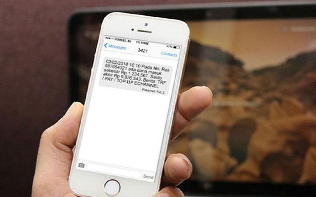 Kegunaan SMS Banking