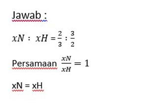 maka persamaan laju reaksi yang tepat yaitu