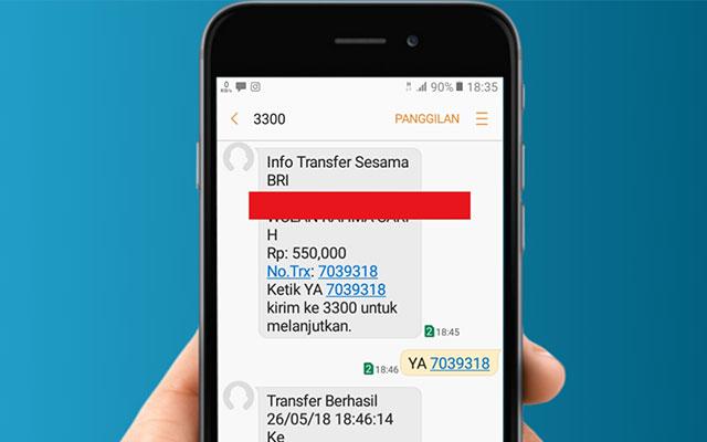 Biaya SMS Banking BRI Untuk Tarif Notifikasi dan Transaksi