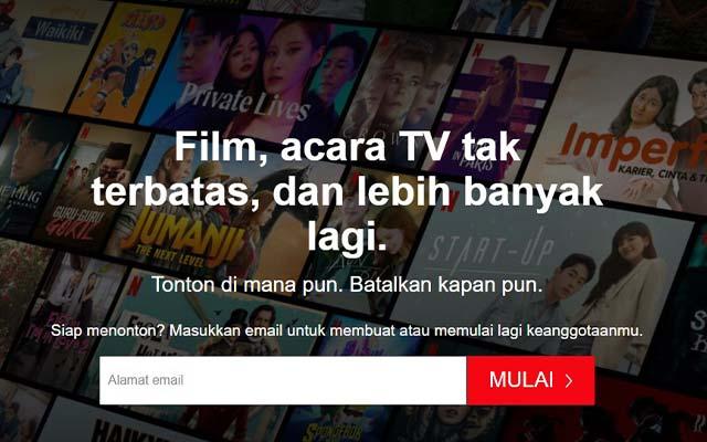 Buat Akun Netflix
