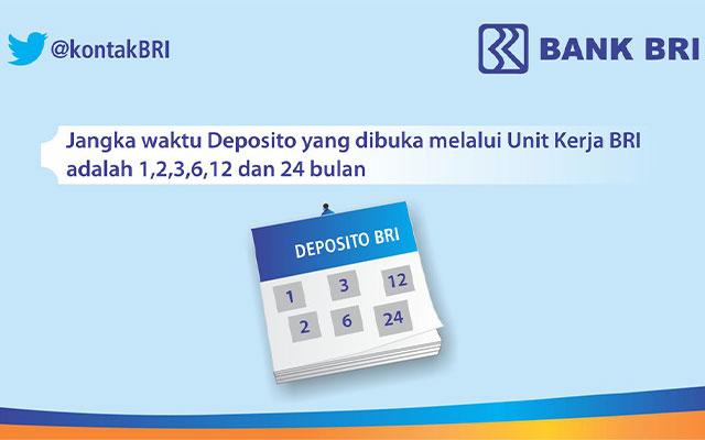 Deposito BRI