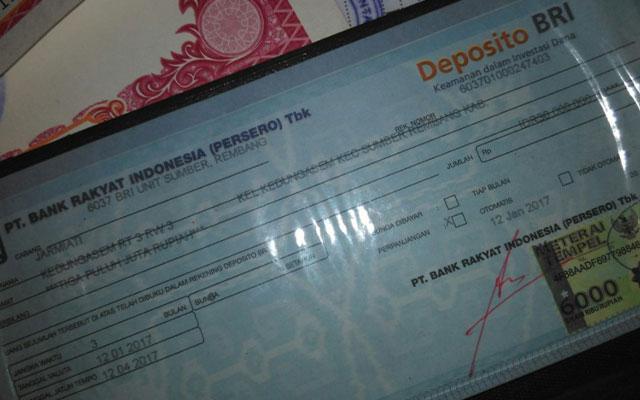 Deposito Valas BRI