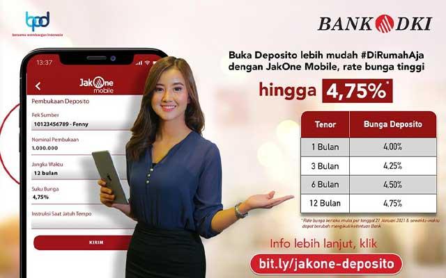 Keuntungan Deposito Bank DKI