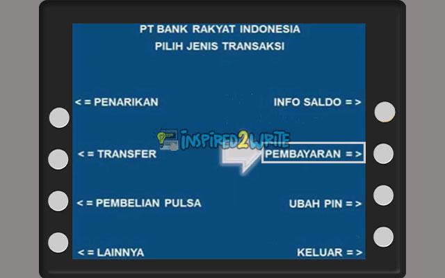 Pilih Pembayaran