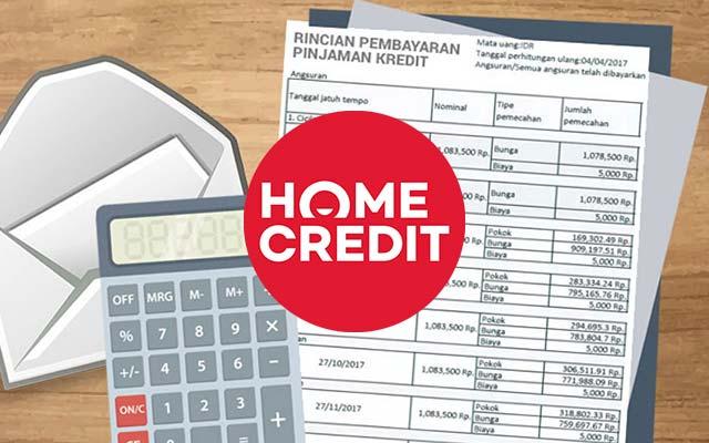 Cara Cek Cicilan Home Credit