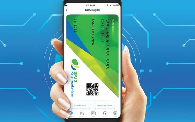 Cek Anggota via Aplikasi BPJSTK Mobile