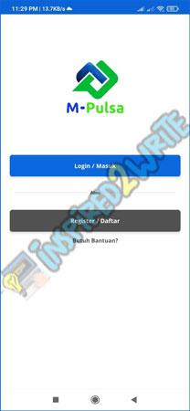Pilih Register Daftar