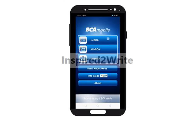 Jalankan Aplikasi BCA Mobile