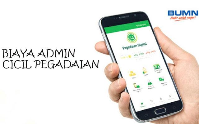Biaya Admin Bayar Cicilan Lewat Aplikasi Pegadaian Digital Service