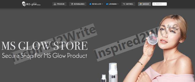 1. Buka Browser Masuk Situs MS Glow