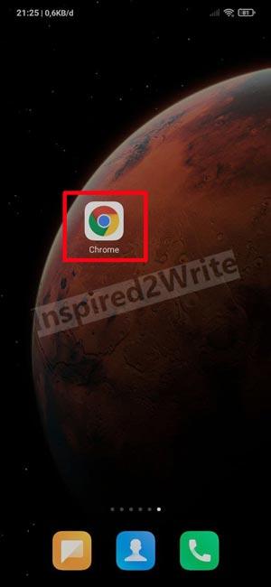 1. Buka Browser di Perangkat