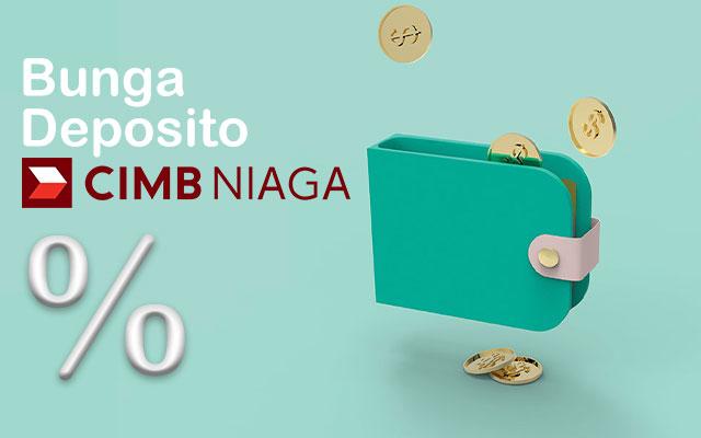 Bunga Deposito CIMB Niaga