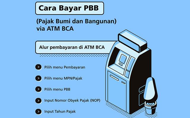 Cara Bayar PBB di ATM BCA