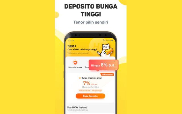 Keuntungan Deposito Bank Neo Commerce