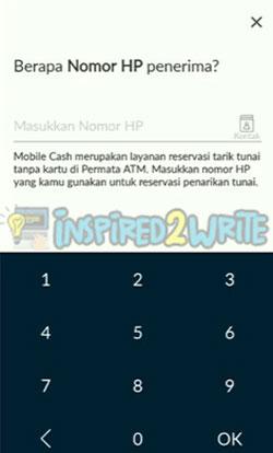 4. Masukkan Nomor HP